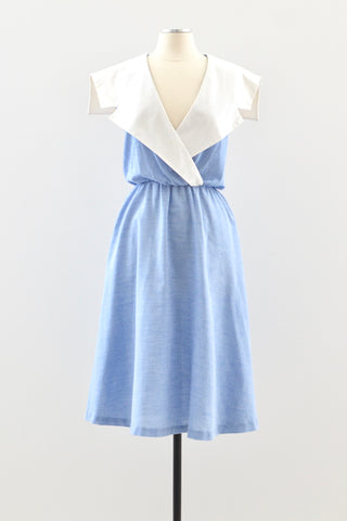 80s Sailor Dress