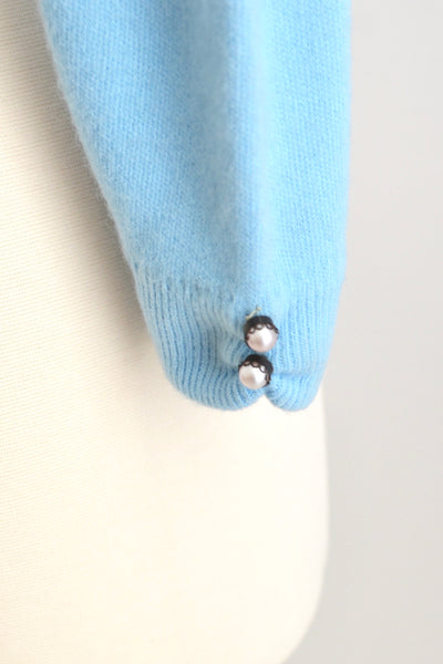 1950s Icy Blue Cardigan