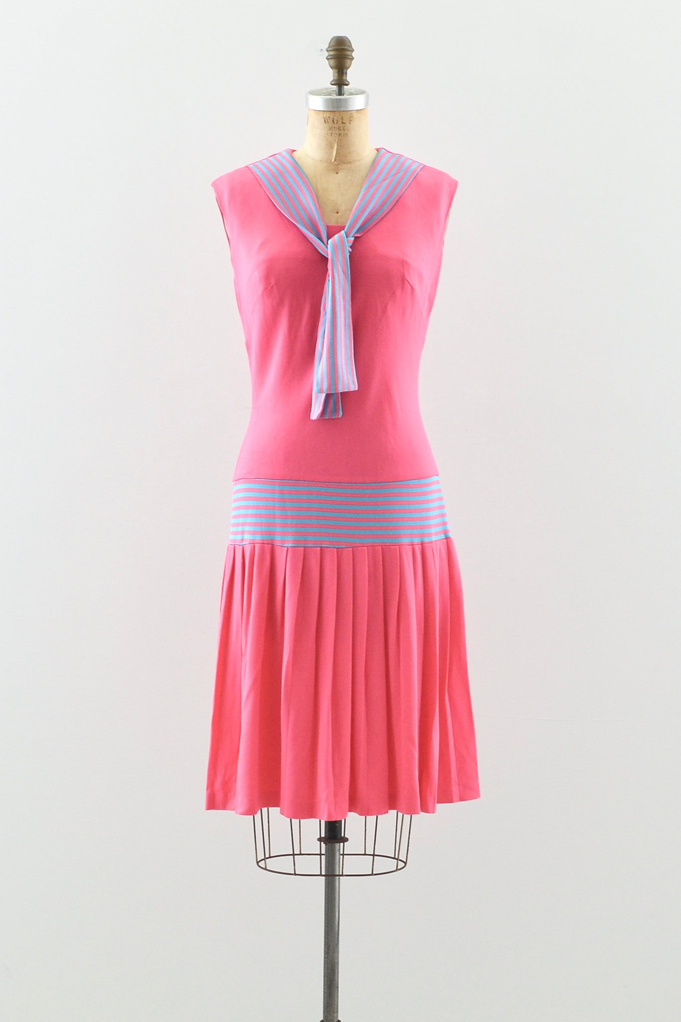 Pink Sailor Dress