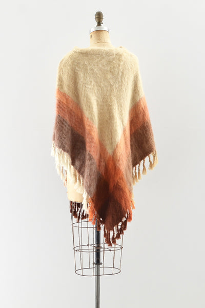 Sale / Mohair Poncho