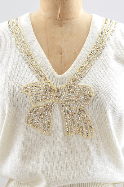 Sparkle Bow Sweater