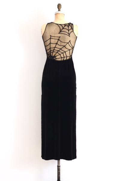 Spiderweb Mesh Dress - Pickled Vintage
