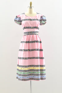 1930s Bubblegum Dress