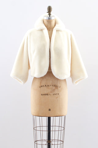 50s Vegan Teddy Jacket