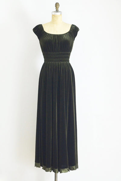 Grecian Dress - Pickled Vintage