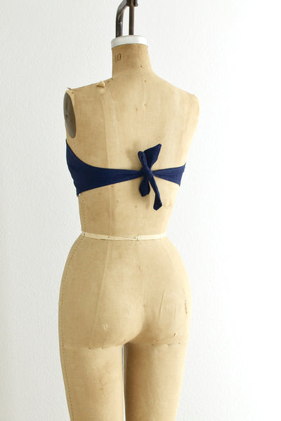 1950s Playsuit Top - Pickled Vintage