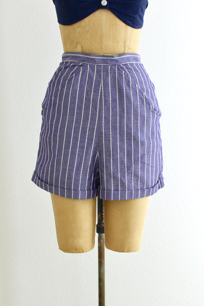 1950s Playsuit Shorts - Pickled Vintage