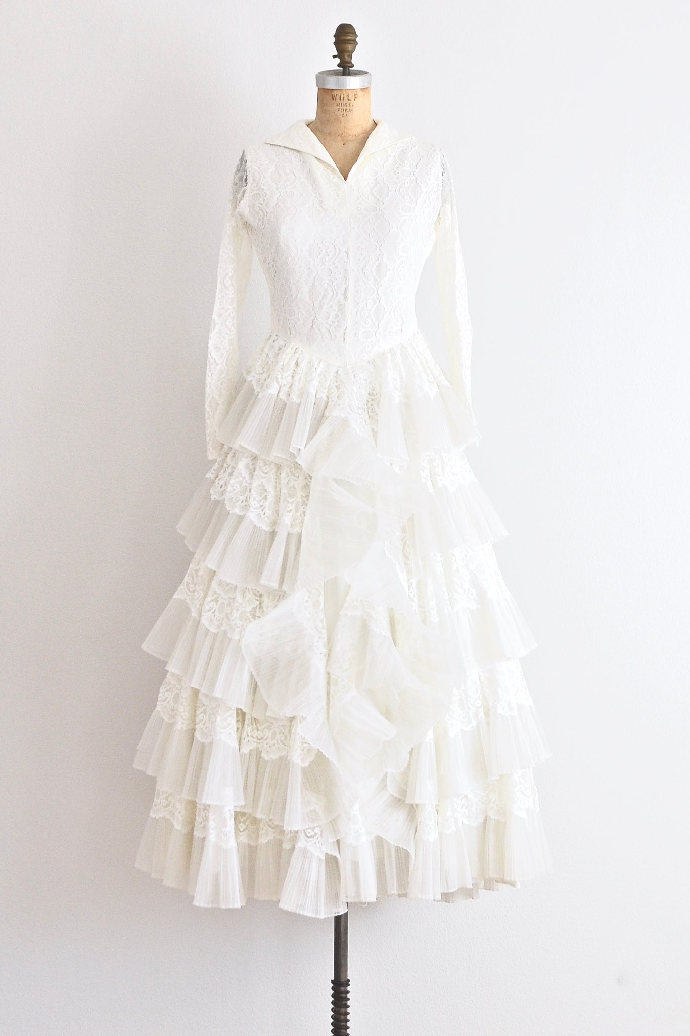 Ethereal Wedding Dress - Pickled Vintage