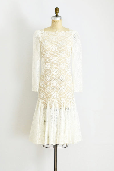 Mermaid Lace Dress - Pickled Vintage