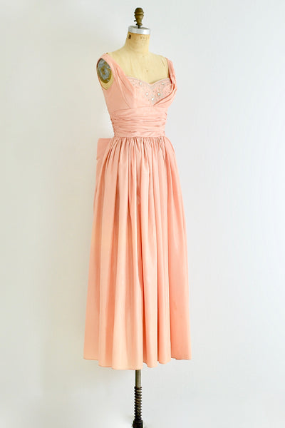 Beaded Gown - Pickled Vintage