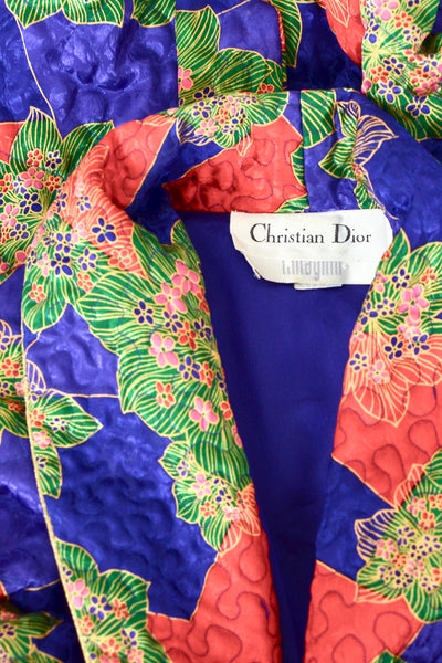 Christian Dior Quilted Robe - Pickled Vintage