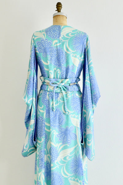 Tina Lesser Furisode Dress - Pickled Vintage