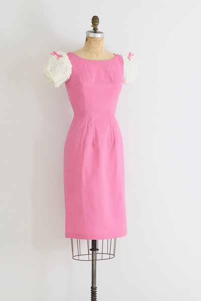 Puff Sleeve Dress - Pickled Vintage