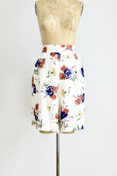 1990s Floral Shorts - Pickled Vintage