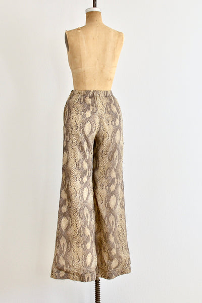 Snakeskin Pants - Pickled Vintage