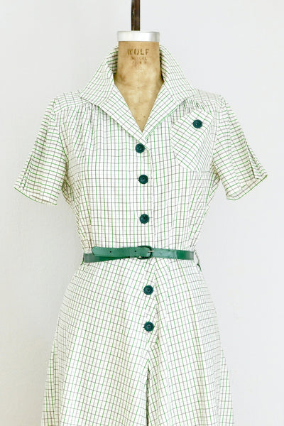 1940s Green Culotte Jumpsuit - Pickled Vintage