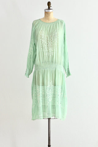 1920s Hungarian Dress - Pickled Vintage
