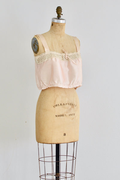 1920s Silk Camisole - Pickled Vintage