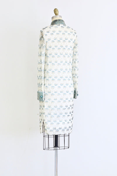 1960s Beaded Dress - Pickled Vintage
