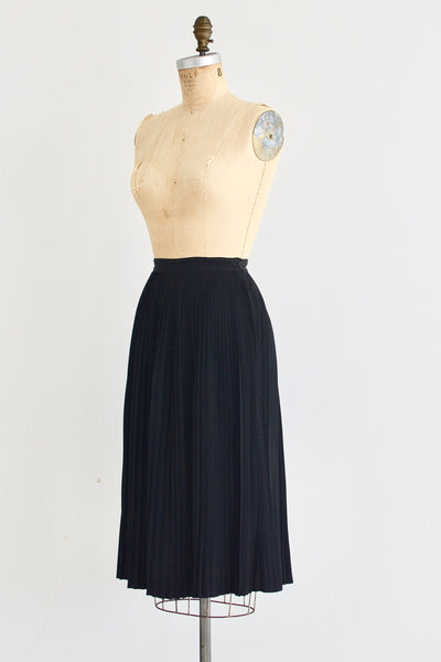 1950s Micro Pleat Skirt - Pickled Vintage