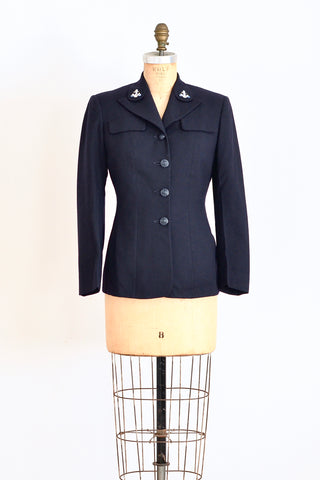 1940s WAVES Jacket - Pickled Vintage