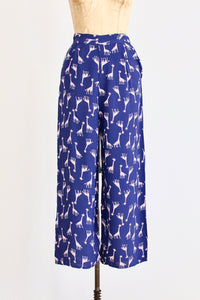 40s Harlequin Giraffe Pants - Pickled Vintage