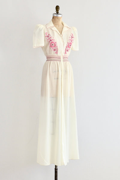 40s Parachute Gown - Pickled Vintage