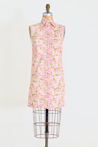 60s Day Shift Dress - Pickled Vintage