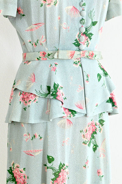 Seafoam Top Skirt Set - Pickled Vintage