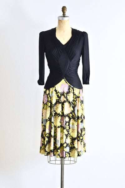 1940s New York Creation Dress - Pickled Vintage