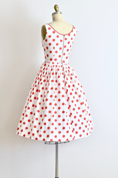 Betty Barclay Polka Dress - Pickled Vintage