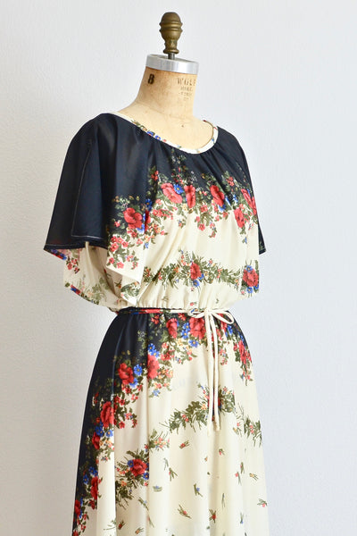 60s Floral Dress - Pickled Vintage