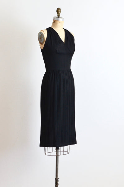 1950s Pat Hartly Pleated Dress - Pickled Vintage
