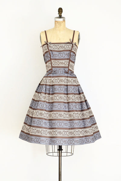 1950s Pat Premo Dress - Pickled Vintage