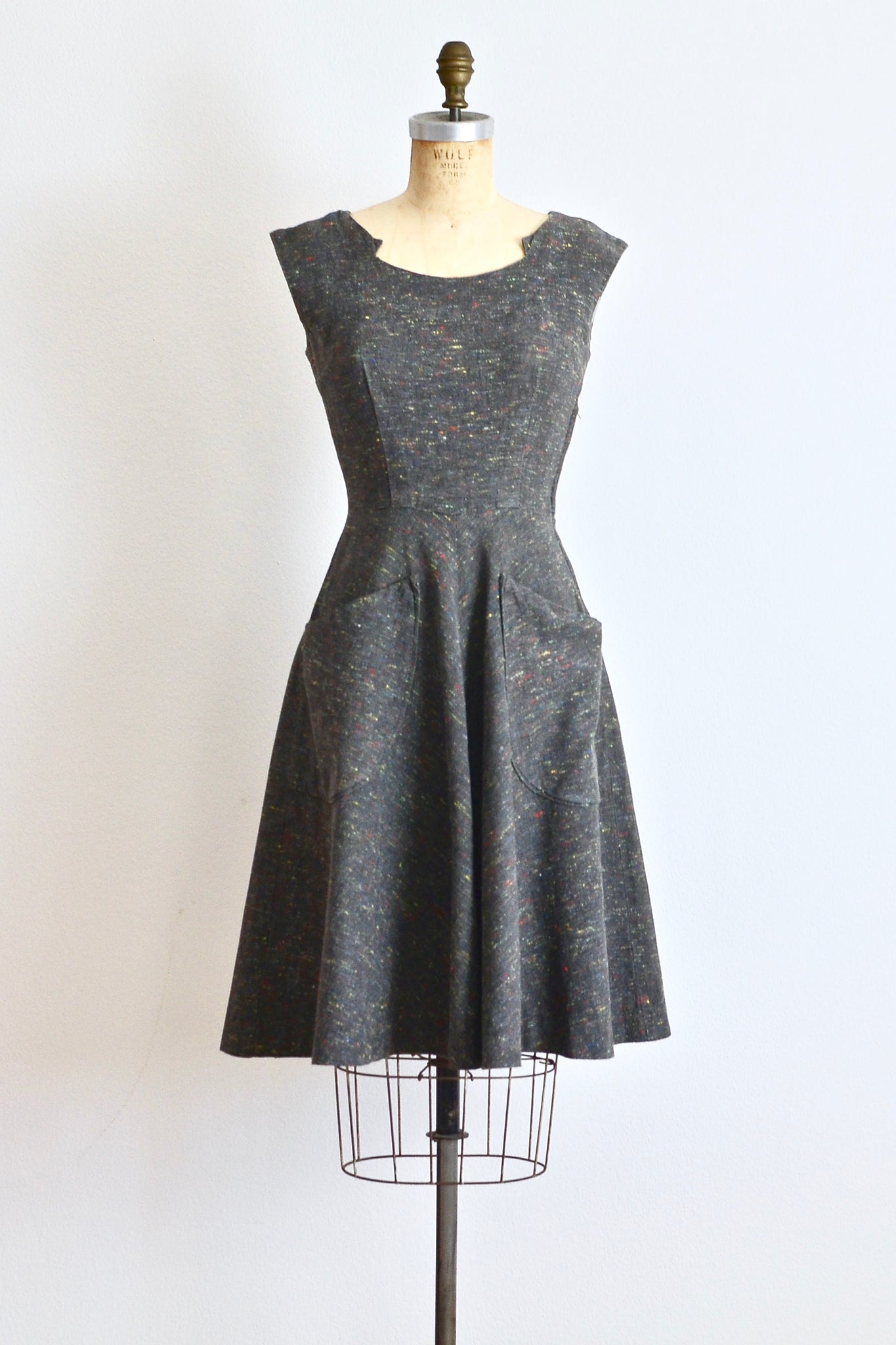 50s Sprinkle Dress - Pickled Vintage