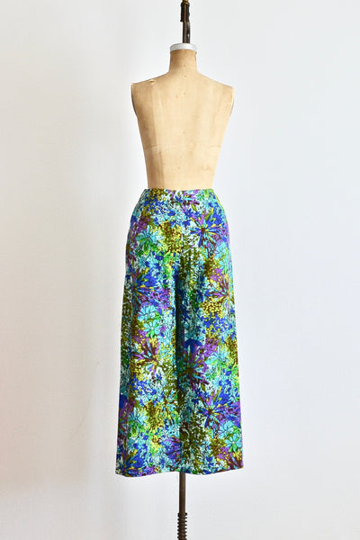 60s Barkcloth Pants - Pickled Vintage