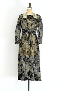 1910s Printed Dress - Pickled Vintage