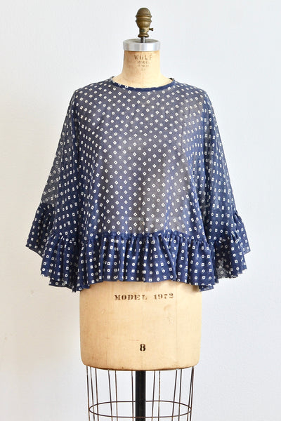 Geometric Print Top - Pickled Vintage