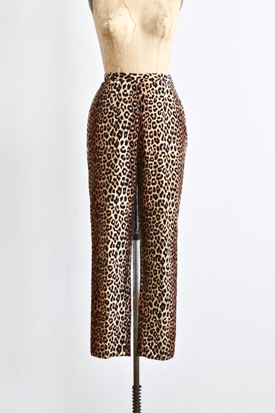 1960s Leopard Capri - Pickled Vintage