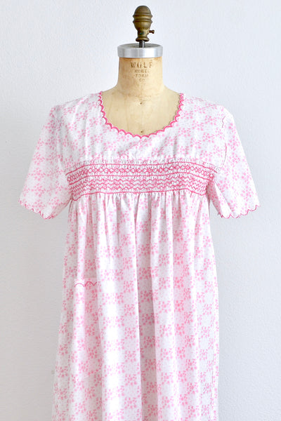 Smocked House Dress