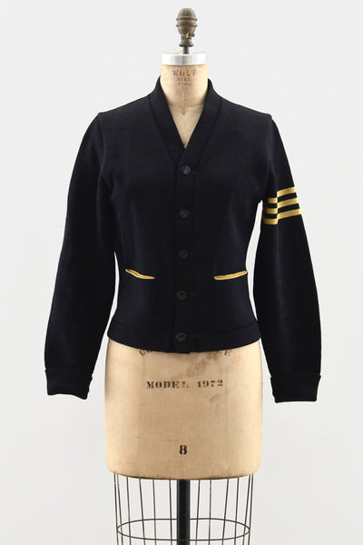 1940s Varsity Sweater - Pickled Vintage