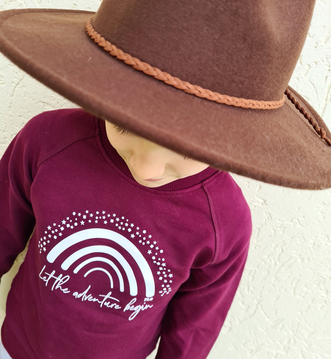 KJH SURF Brown Hat Kids