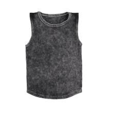 Load image into Gallery viewer, TLB peace love and sunshine stonewash tank limited edition
