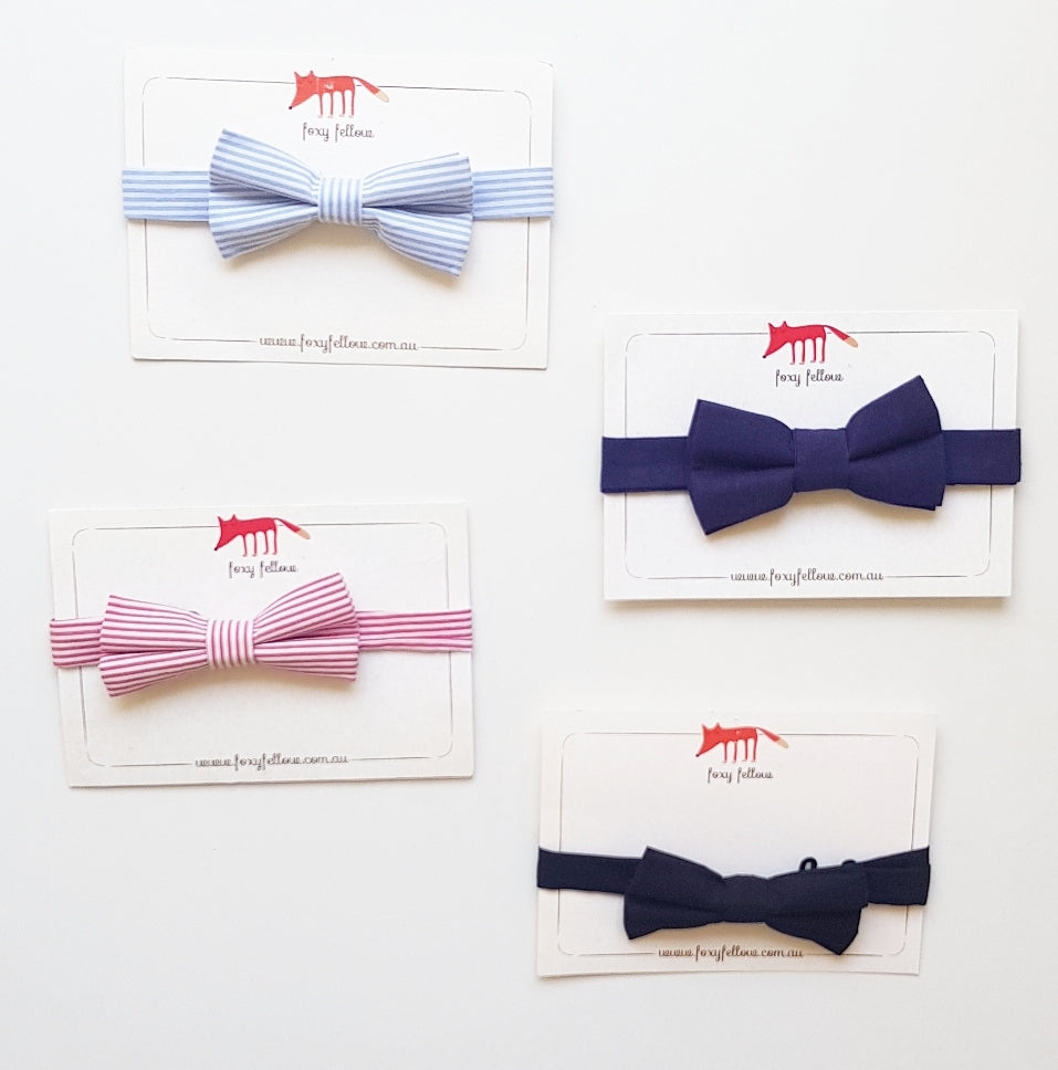 Foxy Fellow Kids Bow Ties