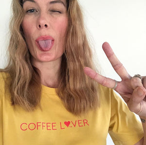 TLB Coffee L❤ver Women's Tee Mustard PREORDER