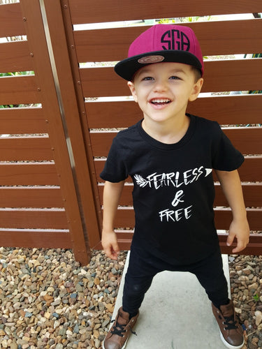 TLB FEARLESS & FREE Tee