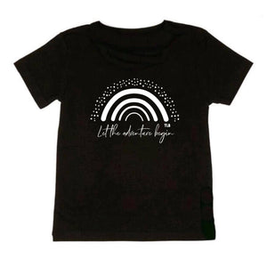 TLB Let the adventure begin rainbow tee