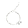 Single Pearl Bracelet - Sterling Silver