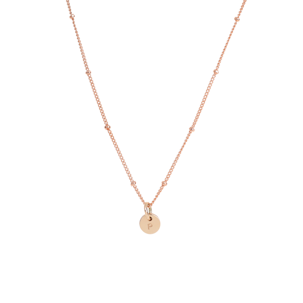 Rose Gold Petite Personalised necklace