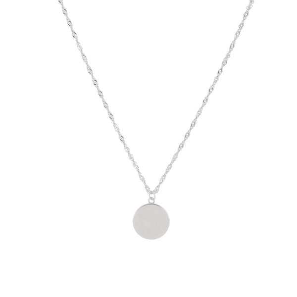 Classic Pendant necklace - Sterling Silver